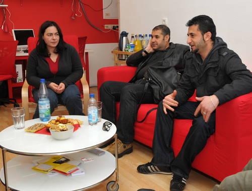 OTZ: Fluechtlinge in Katzhuette unzufrieden