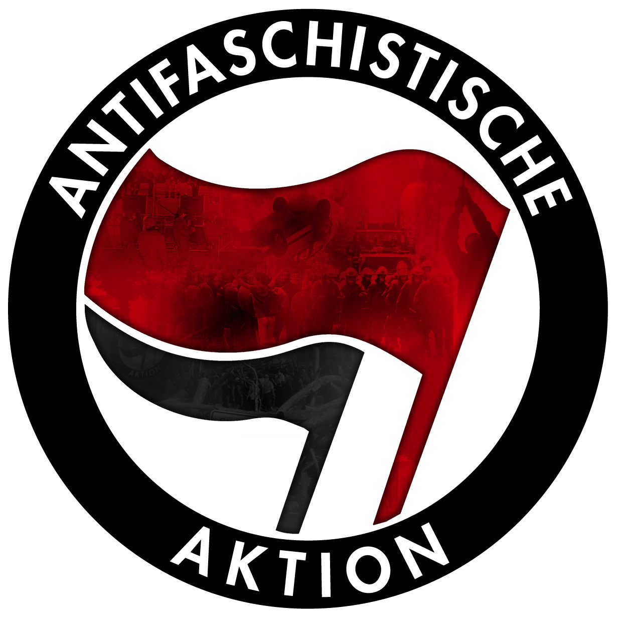 Gegen den DVU-Bundesparteitag in Kirchheim