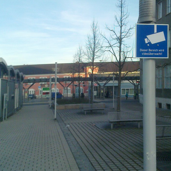 Saalfelder Bahnhof videoueberwacht