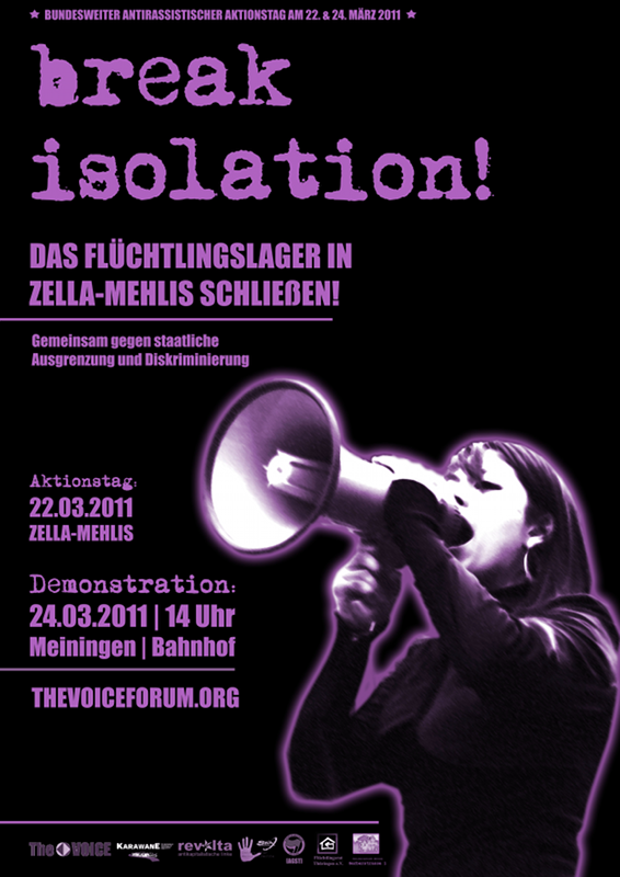 Morgen (Do): Demo gegen Isolation