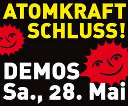 28.05. Grossdemonstration gegen Atomkraft in Erfurt