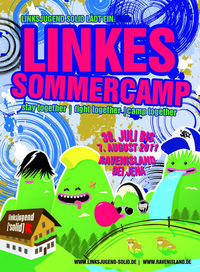 Sommercamp der Linksjugend ['solid]