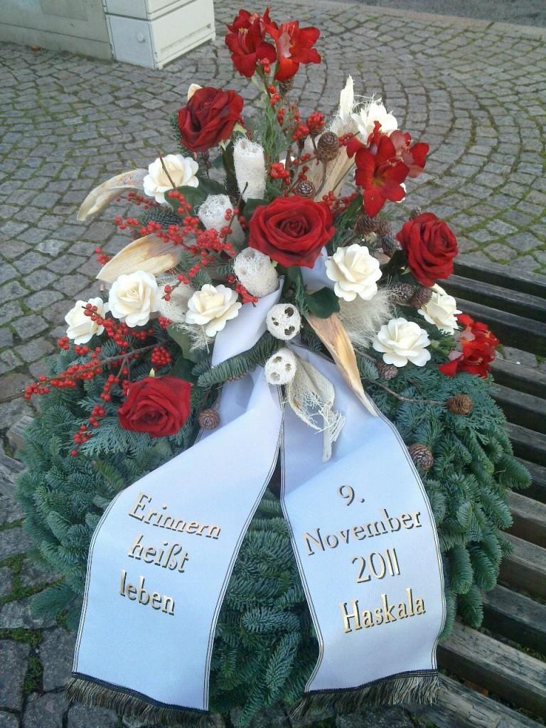 Gedenken an die Opfer der Reichspogromnacht in Saalfeld