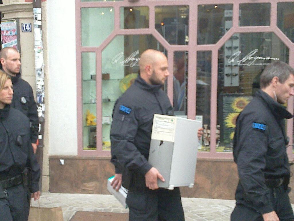 Kundgebung zum 1. Jahrestag der Razzia gegen Lothar König / JG Stadtmitte Jena