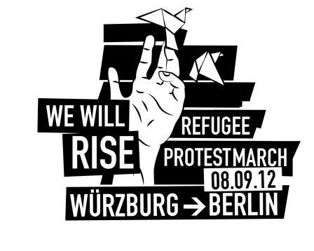 Deutschlandweiter Protestmarsch von Asylbewerber_Innen erreicht Erfurt