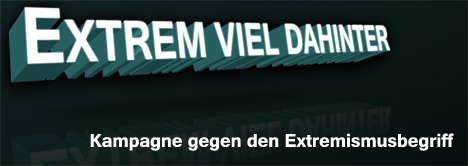 Kampagne in Thüringen gegen die Extremismus-Theorie
