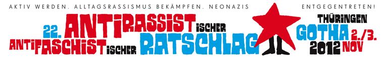 22. Antirassistischer und antifaschistischer Ratschlag