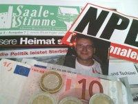 Kleine Anfrage: Öffentliche Förderung eines NPD-Funktionärs aus dem Landkreis Saalfeld-Rudolstadt?