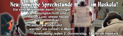 """""""Operation Haarberg"""" wurde heute eingeleitet, seit 9 Uhr wird zurückgeworben!"""