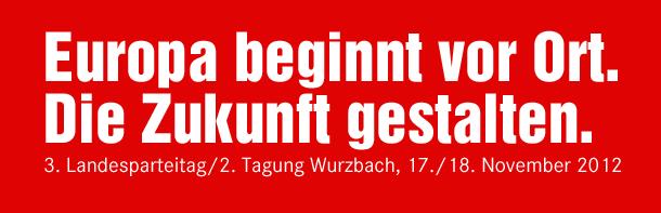 Parteitag der LINKEN in Wurzbach