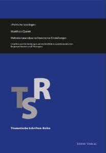 """Präsentation und Diskussion aktueller Forschungsergebnisse zu """"Rechtsextremismuspotenzialen in und um Saalfeld"""""""