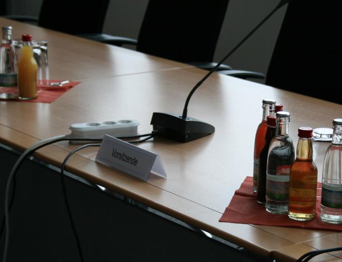 Einladung zum Untersuchungsausschuss 10. Juni 2013 / Mit Zeugen aus Innenministerium