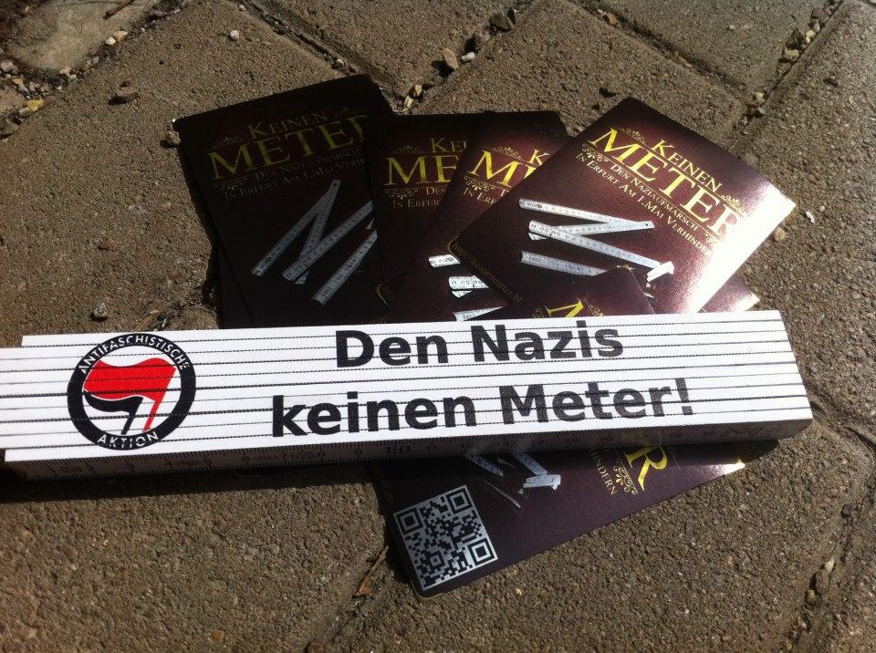 Naziaufmarsch am 1. Mai 2013 in Erfurt verhindern!