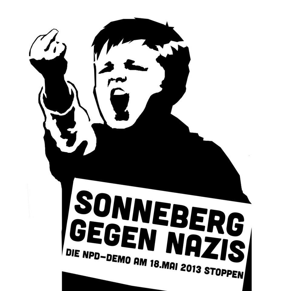 18. Mai: Gegen den Naziaufmarsch in Sonneberg