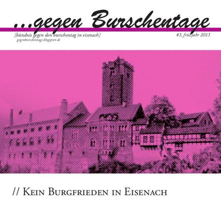 """Linksfraktion ruft zur Teilnahme an Protesten gegen """"Burschentag"""" in Eisenach auf"""