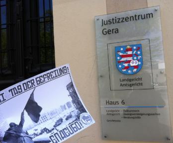 8. Mai: Tag der Befreiung und Gerichtsverhandlung in Gera