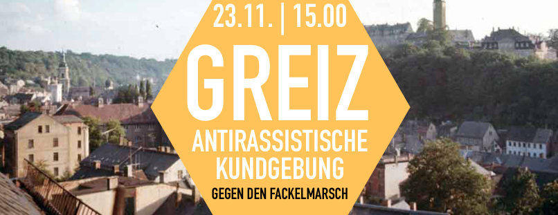 Busse aus Jena & Erfurt: Am Samstag gegen den überregionalen Fackelaufmarsch in Greiz!