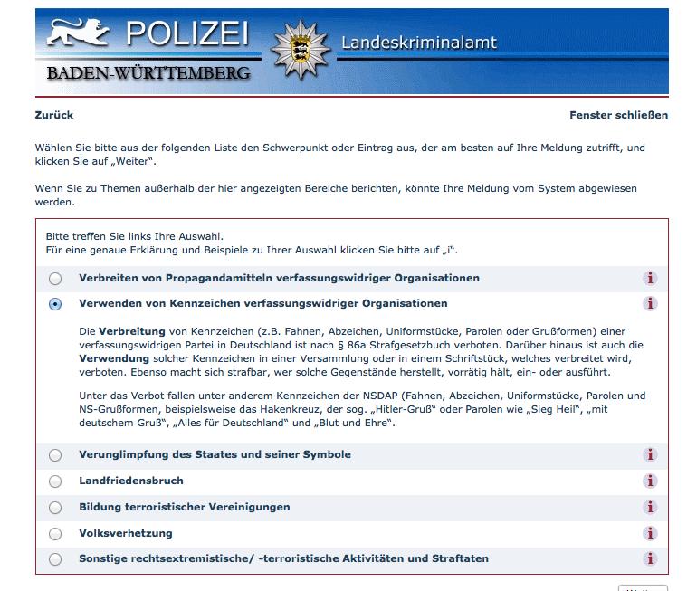 Konsequenz aus NSU-Ermittlungsfehlern: Anonymes Hinweis-System für rechte Straftaten für das LKA Thüringen