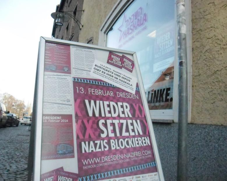 Mach mit – am 13. Februar gegen Neonazis in Dresden! (Busfahrt ab Saalfeld)