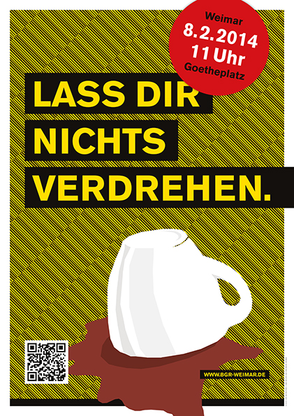 Morgen: Antifaschistischer Samstag in Thüringen