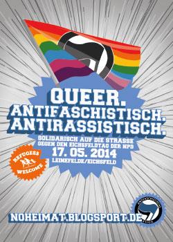 17. Mai Leinefelde – Proteste gegen Neonazi-Großkonzert!
