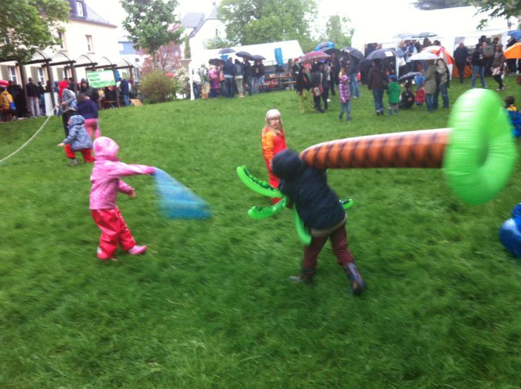 Eindrücke vom Dürerparkfest am 1. Mai in Saalfeld
