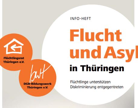"""Infoheft """"Flucht und Asyl in Thüringen"""" als Download"""