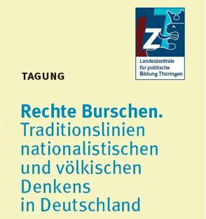 Tagung zum Thema Burschenschaften: 12. Juni 2014, Eisenach