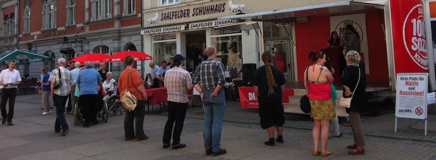 Saalfeld-Rudolstadt: LINKE-Kandidat_innen für Kreis- und Stadtrat vorgestellt