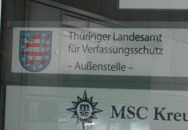 Linksfraktion thematisiert konspirative Verfassungsschutz Außenstelle im Landtag