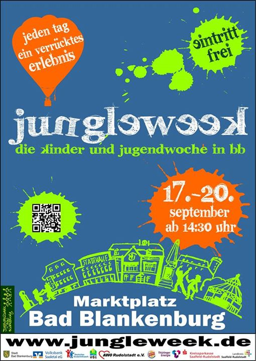 17.-20.9. Jungle Week in Bad Blankenburg
