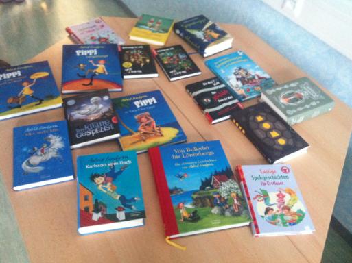 Bundesweiter Vorlesetag: Katharina König liest vor Saalfelder Grundschulklassen