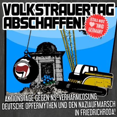 Nazi-Fackelmarsch am Sonntag in Friedrichroda