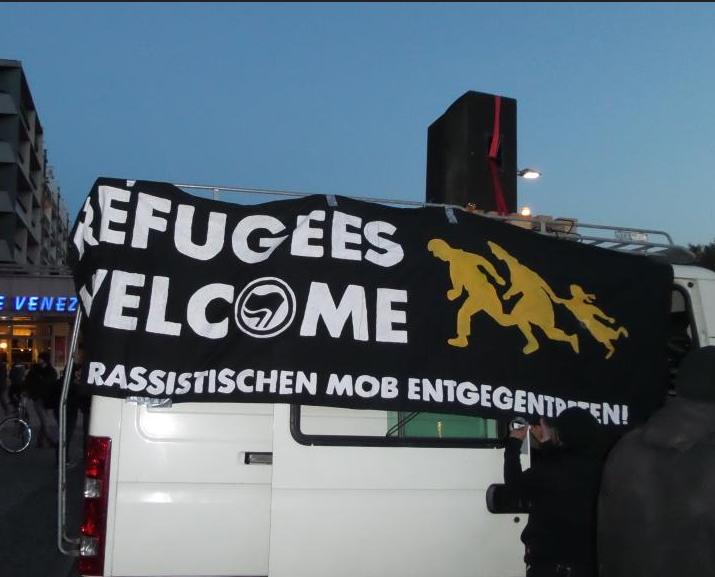 "12. Januar Suhl – Protest gegen ""Pegida""-Demo"