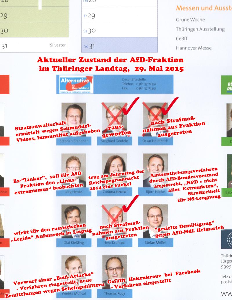 Thüringer AfD-Fraktion – wieder einer weniger…