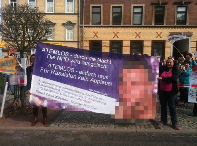 Eisenacher NPD gibt militanten C18 Neonazis Unterschlupf und CDU kritisiert fehlenden Handschlag mit Neonazis