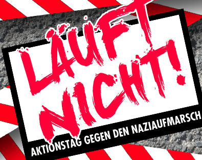 Neonazis aus der Region organisieren Aufmarsch am 27. Juni 2015 in Jena – Läuft nicht!