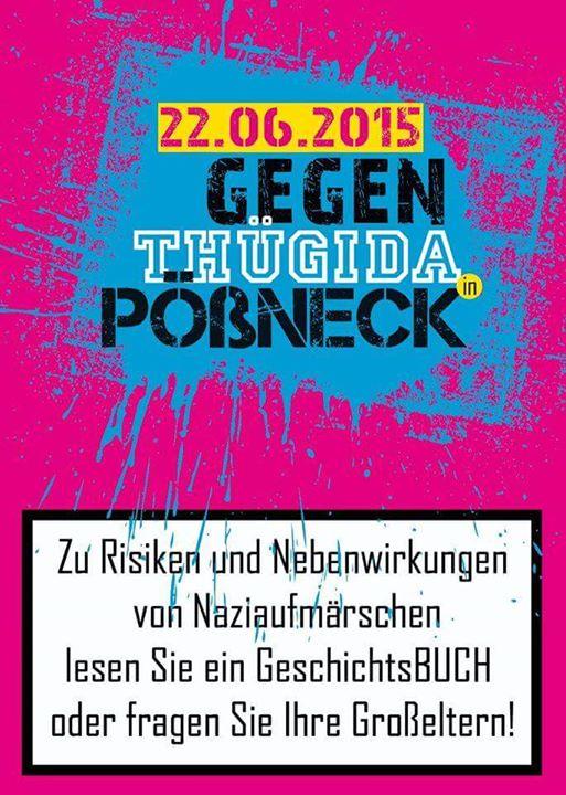 22. Juni 2015 – Gegen Thügida in Pößneck