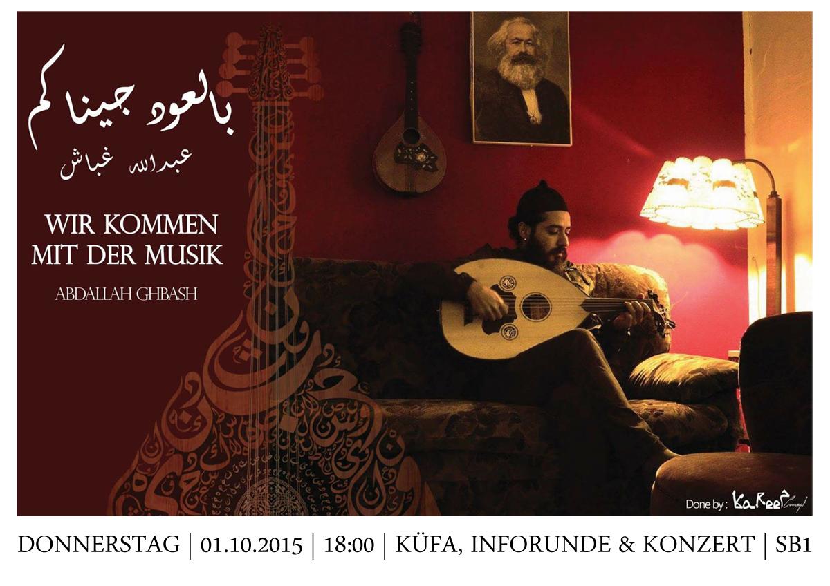 Syrischer Abend am Donnerstag 1.10. in Saalfeld, 18 Uhr im SB1
