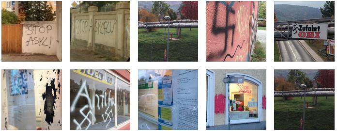 Gewalt gegen Flüchtlinge, Judenhass und Hakenkreuze – Abgeordnetenbüro und Flüchtlingsunterkunft in der Nacht attackiert