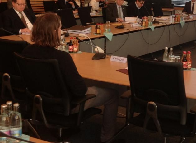 UA 6/1 Protokoll 14.01.2016 – 2. Thüringer NSU-Untersuchungsausschuss (LKA BaWü und LKA Thüringen, Brandexperte, Entschlüsselungsexperte, Journalist)