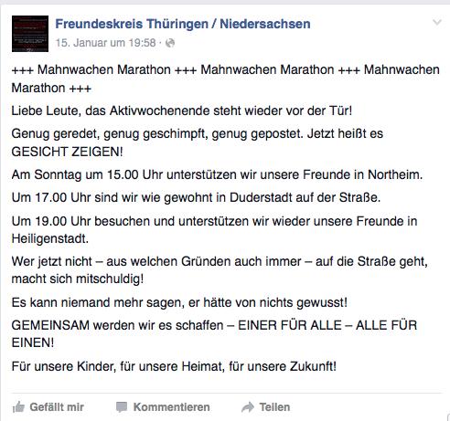 Offene Kooperation zwischen AfD-Jugendorganisation und NPD in Nordthüringen