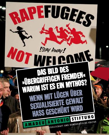 """Neue Handreichung (PDF) zum Mythos vom """"übergriffigen Fremden"""""""