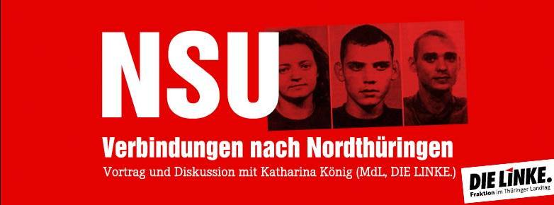 Veranstaltung: NSU – Verbindungen nach Nordthüringen