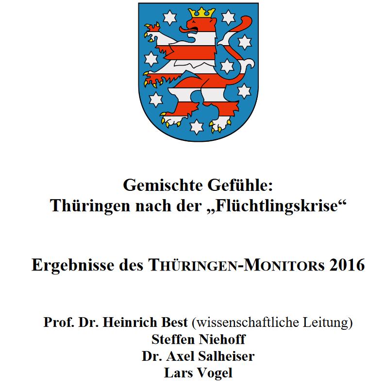 Thüringen-Monitor markiert Herausforderungen für Politik und Zivilgesellschaft