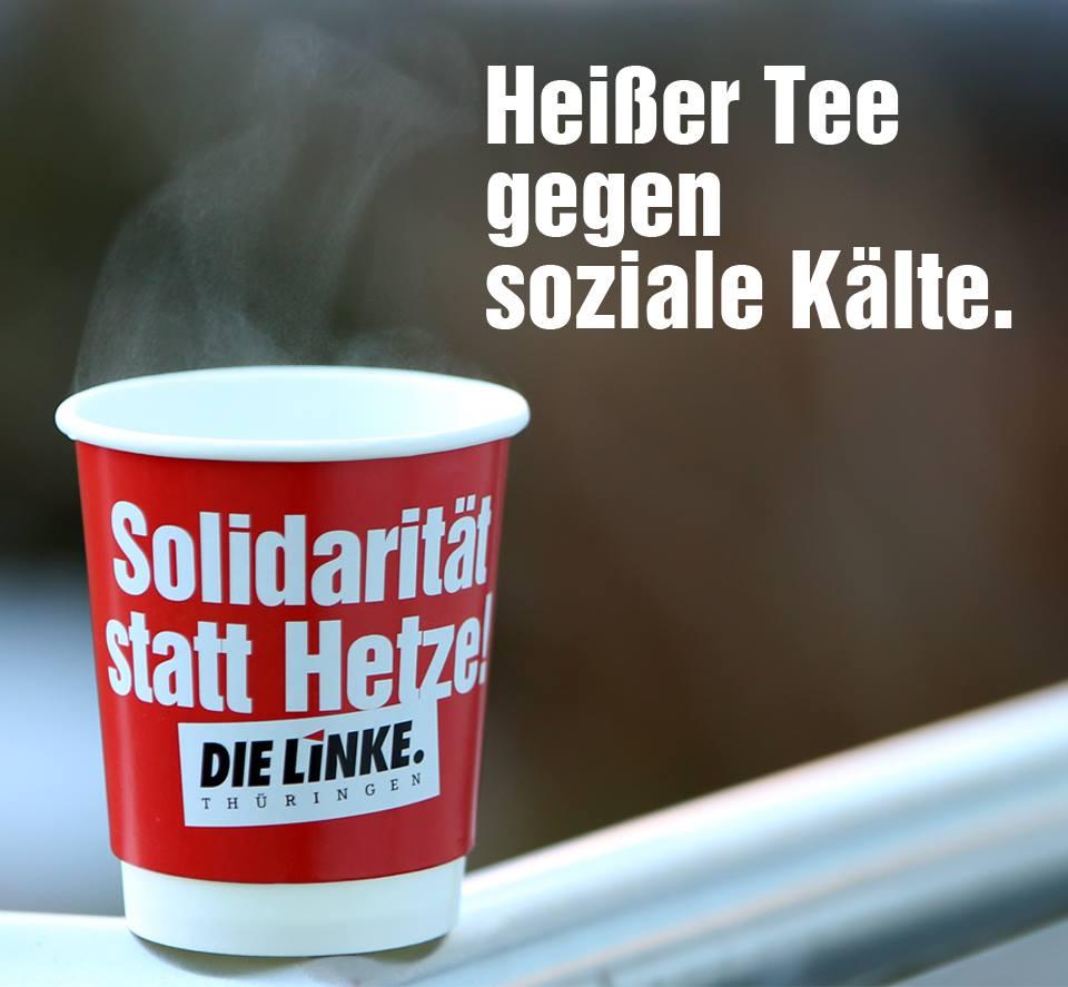 Heißer Tee gegen soziale Kälte