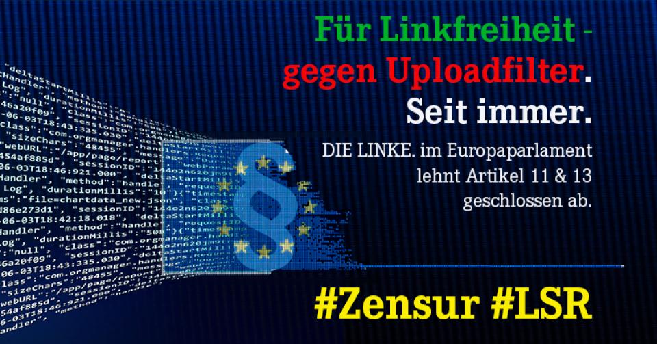Fatales Ergebnis bei europäischer Urheberrechtsreform