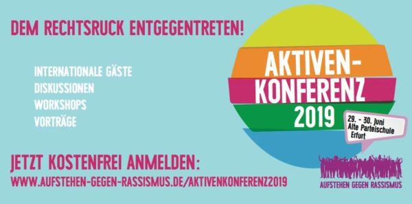 """Aktivenkonferenz von """"Aufstehen gegen Rassismus"""""""