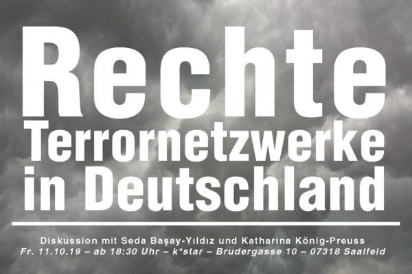 Veranstaltung: Rechte Terrornetzwerke in Deutschland