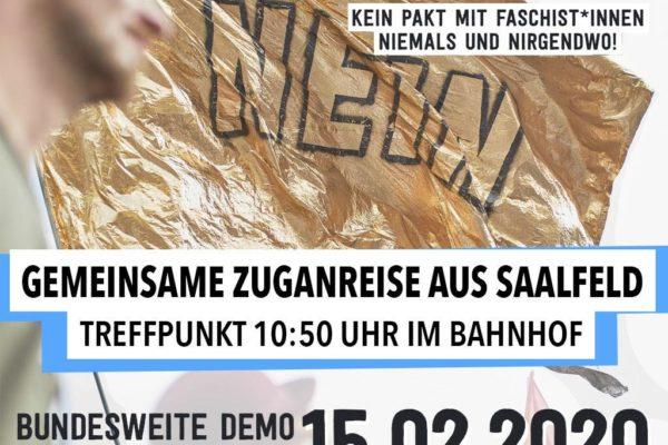 Kein Pakt mit Faschist*innen! #nichtmituns